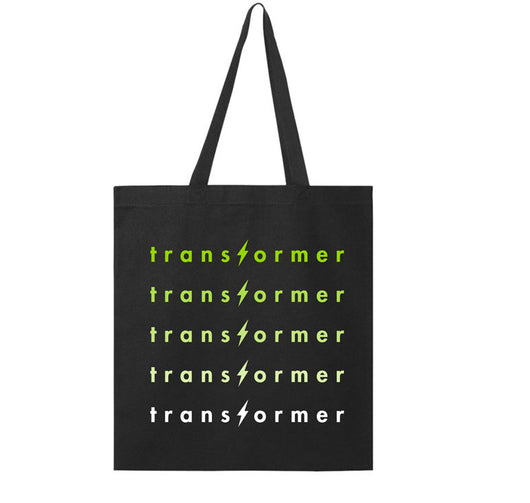 Transformer Anniversary Tote Bag