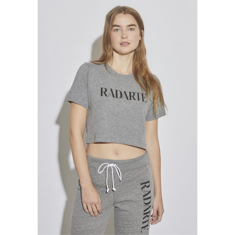RADARTE Logo Cropped T-shirt