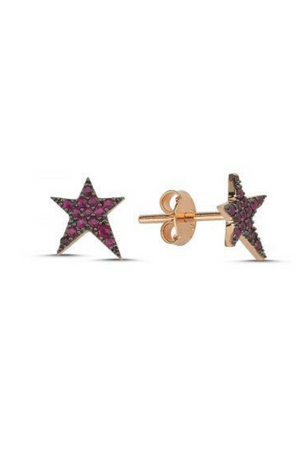 OWN YOUR STORY Ruby RockStar Studs