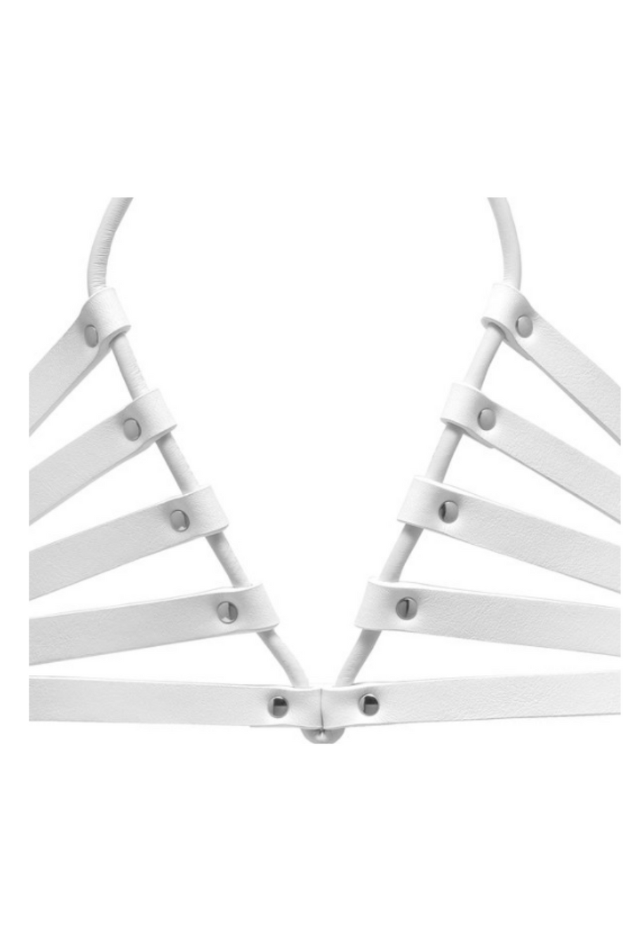 YVY Leather Sleek Crossed Harness