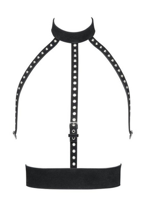 YVY Leather Eyelet Harness