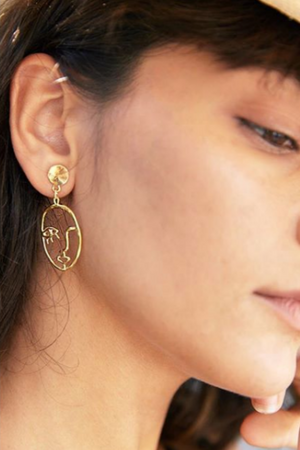 THE MOIRES Ethan Earrings