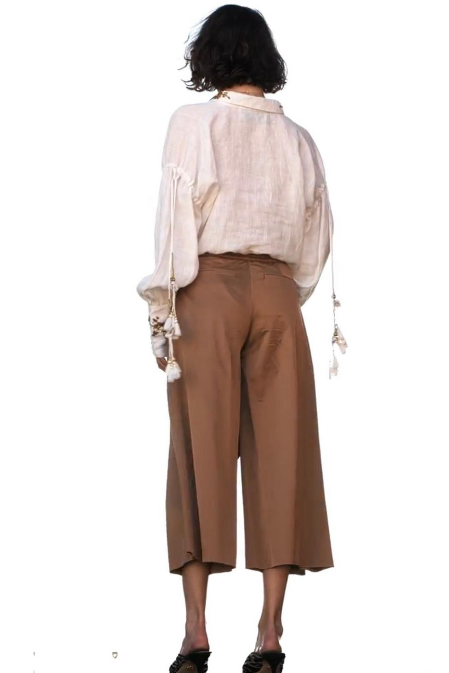 CHRISTIAN PELLIZZARI Wide Leg Trouser