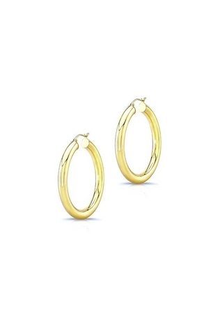 ANEV 14k Large HOOPS
