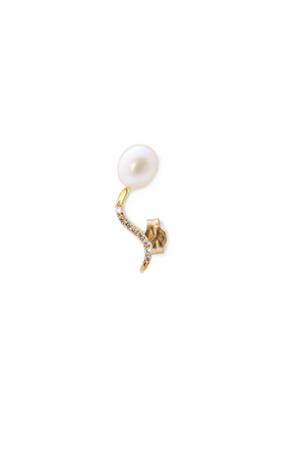 NAYESTONES JEWELRY Lina Earring with Diamonds