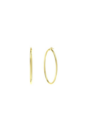ANEV 14k Large HOOPS (35mm)