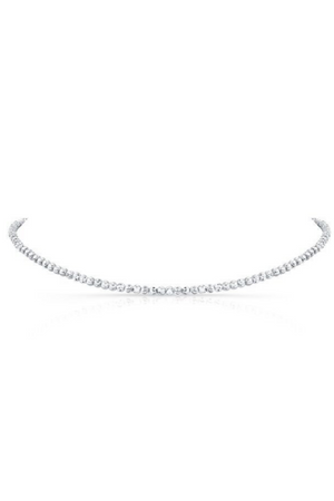 ANEV 14k Diamond Cut Choker