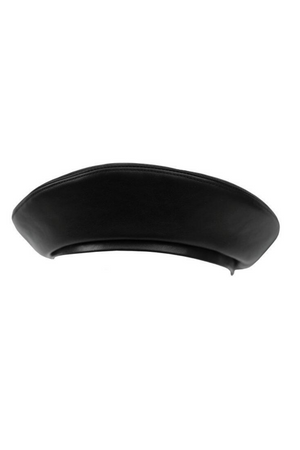 YVY Leather Beret Hat