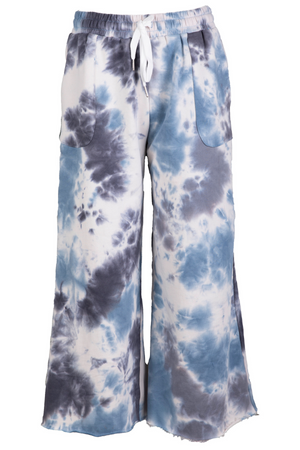 AOTC Terry Tie Dye Flare Pants