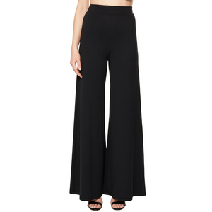 YVY Leather High Waist Pants