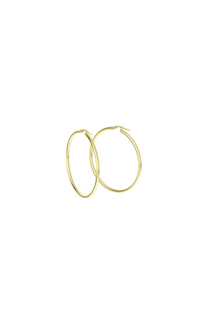 ANEV 14k Large HOOPS (40mm)