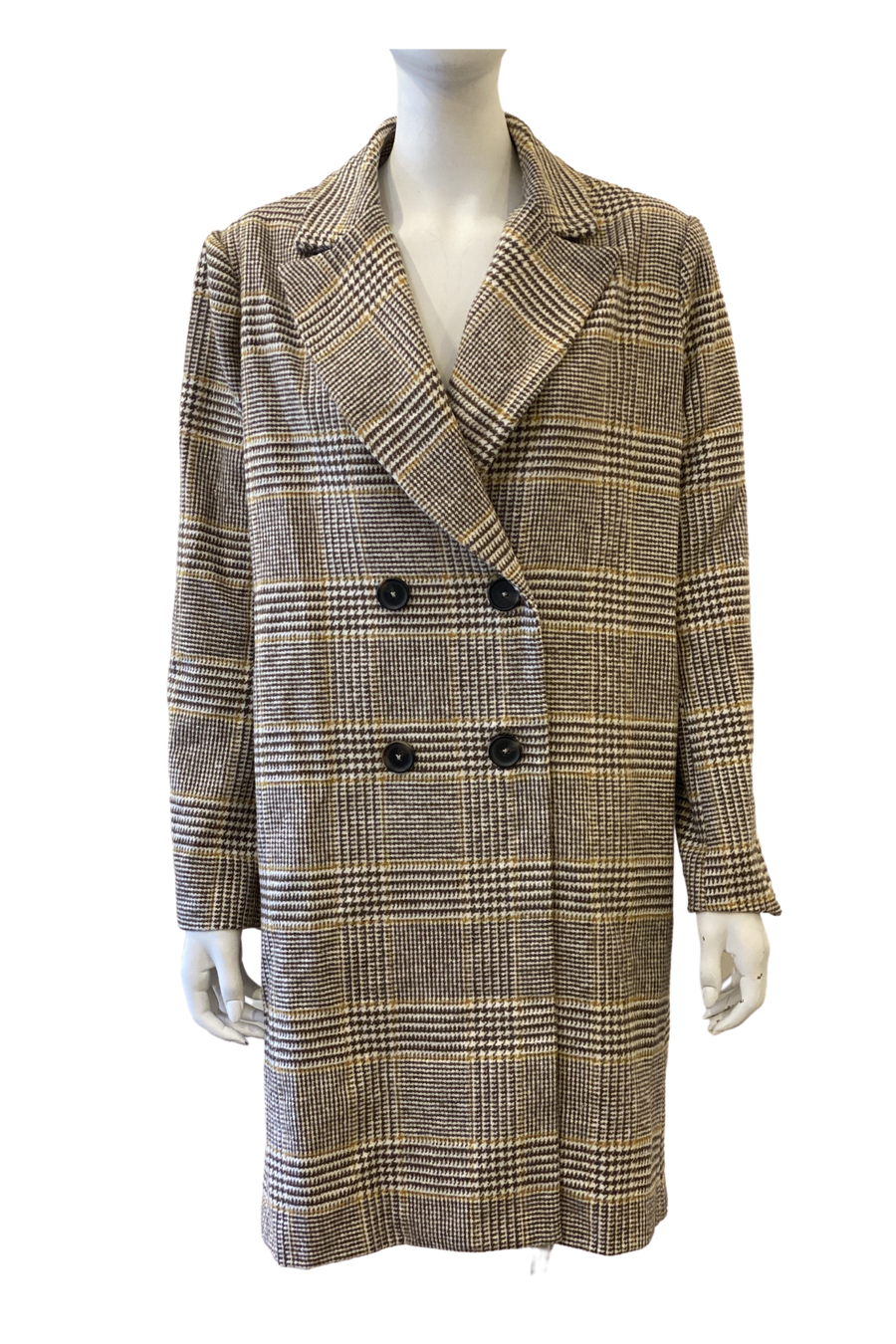 AOTC Plaid Box Coat