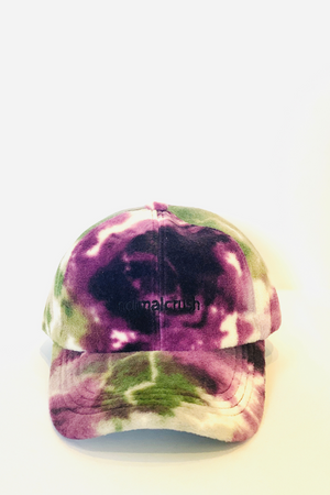 NORMAL CRUSH Tie Die Baseball Cab Purple