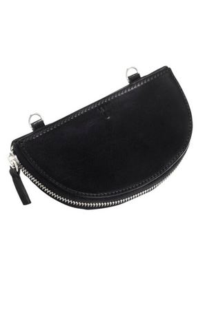 YVY Leather Moon Bag