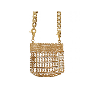 SILVIA GNECCHI Crystal Mini Bag