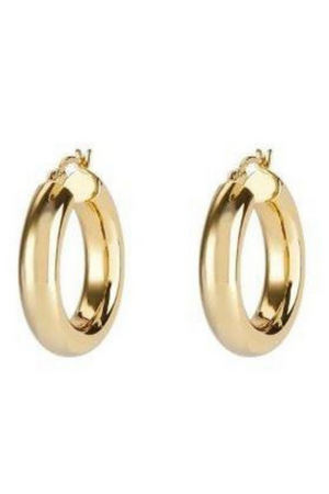 ANEV JEWELRY 14K LRG THICK HOOPS