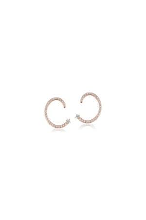 ALTRUIST Pave Helical Earring