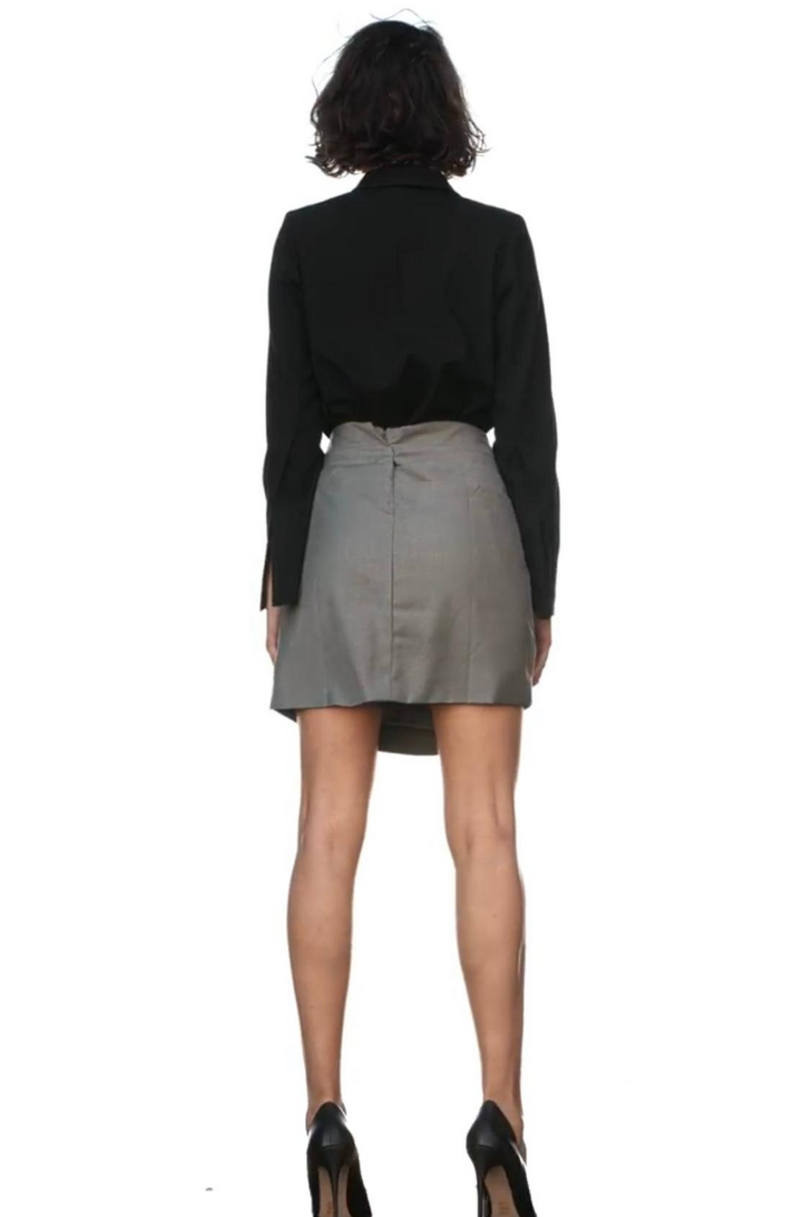 AOTC Lori Tied Mini Skirt