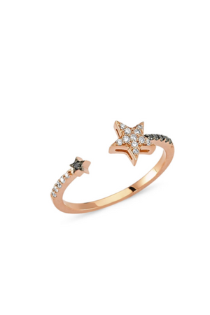 OWN YOUR STORY Open Star Ring