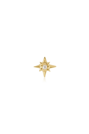 ANEV Rose Gold Starburst Studs