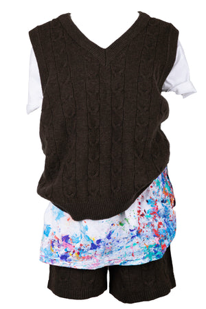 AOTC Boaz Knit Vest Set