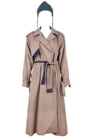 AOTC Ellin Pleated Trench Coat