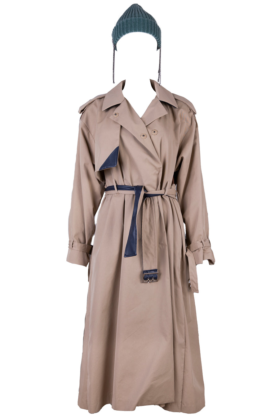 AOTC Ellin Pleats Trench Coat