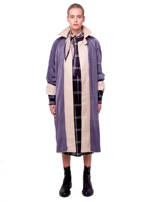 AOTC Deral Reversible Trench Coat