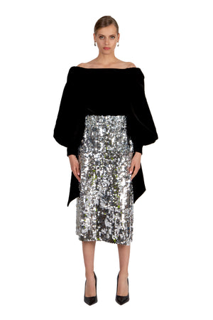 VPM Carolina Sequin Skirt
