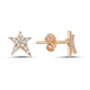 OWN YOUR STORY Diamond RockStar Studs