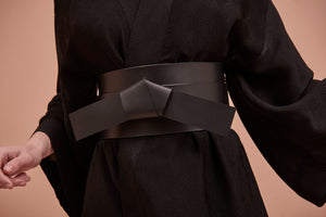 YVY Leather Obi Belt