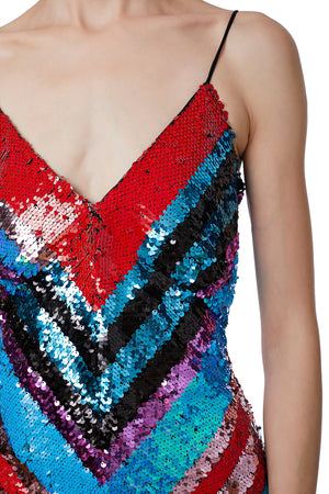 VPM ATELIER Dalia Sequin Dress