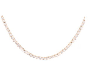 LUNA SKYE Diamond Box Necklace
