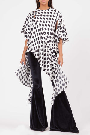SHARON WAUCHOB Suspend Ruffle Top