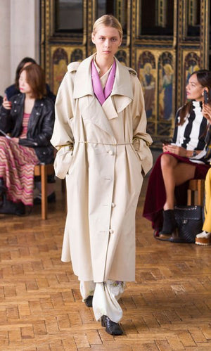 SHARON WAUCHOB Split Trench Coat
