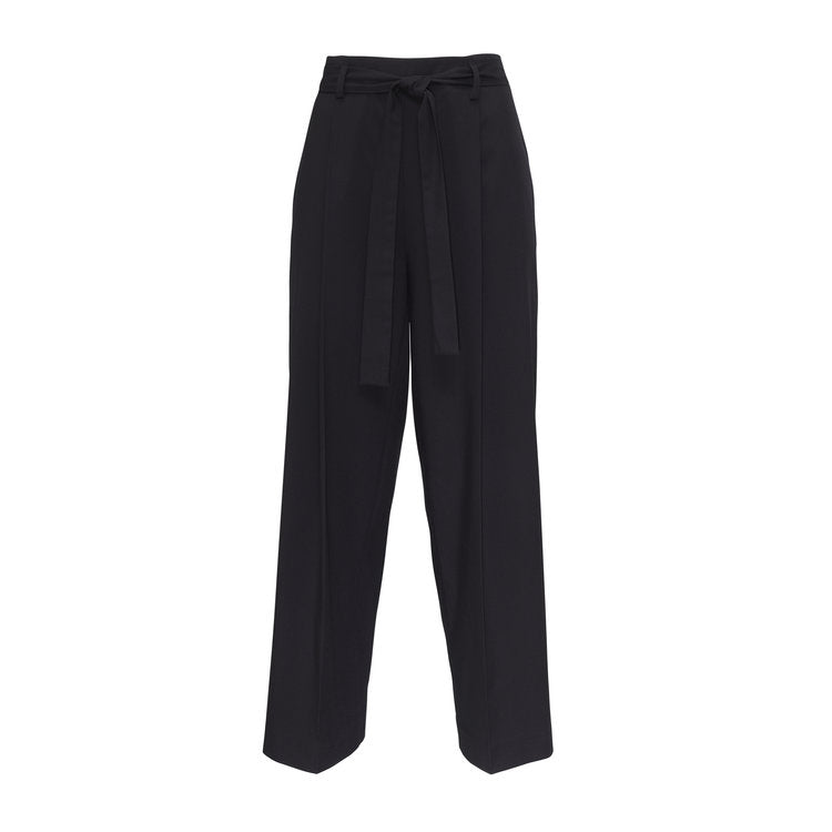 YVY Leather Foldable Suit Trousers