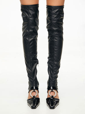 ZARQUA Donna Over the knee Boots