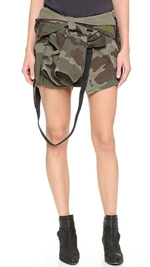 FAITH CONNEXION Camo Shirt Skirt