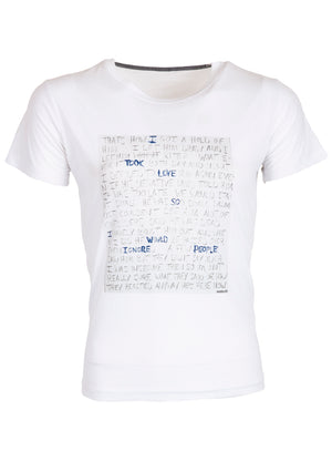 PATRICK HOELCK Handwriting T-shirt