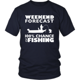 Weekend Forecast - 100 Percent Chance of Fishing - Short Sleeve
