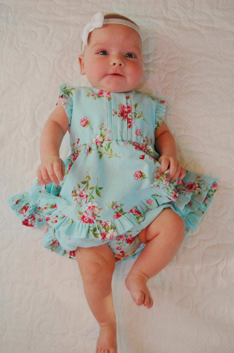 Baby Spinny Mini Dress and Romper