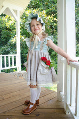 12 sizes: Junebug Tunic or Dress with Detachable Apron