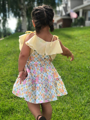 Sundrop Romper and Tiered Dress