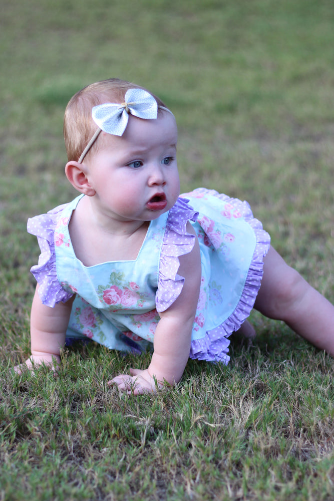 Baby Mini Pinny Romper and Skirted Romper