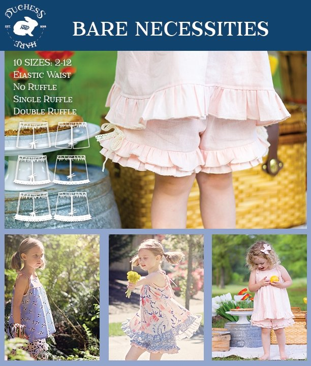 Bare Necessities Ruffle Shorts