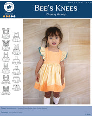 Bee's Knees Scalloped Pinafore and Petticoat