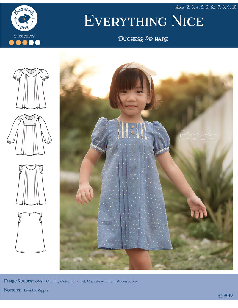 Everything Nice Pleated A-line Dress