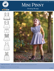 Mini Pinny Pinafore and Bloomers