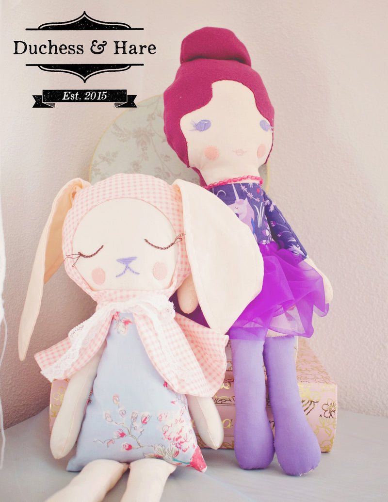 Duchess and Hare Dolls