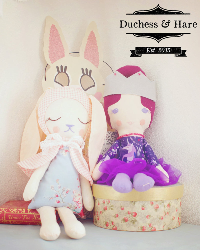Duchess and Hare Dolls - Duchess & Hare